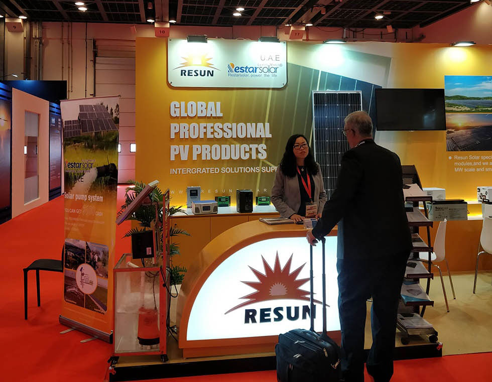 Resun & Restar Show at Middle East Electricity Expo 2019