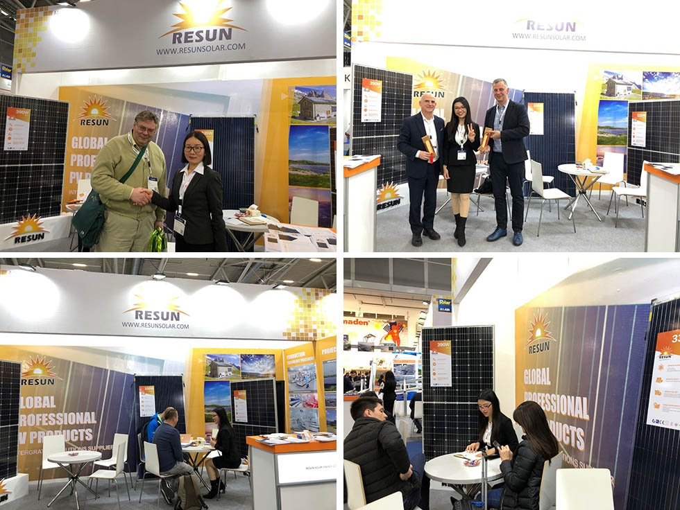 ResunSolar Displayed Cutting Edge Solar Modules on 2019 Intersolar Europe
